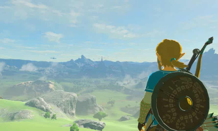 A scene from The Legend of Zelda: Breath of the Wild.