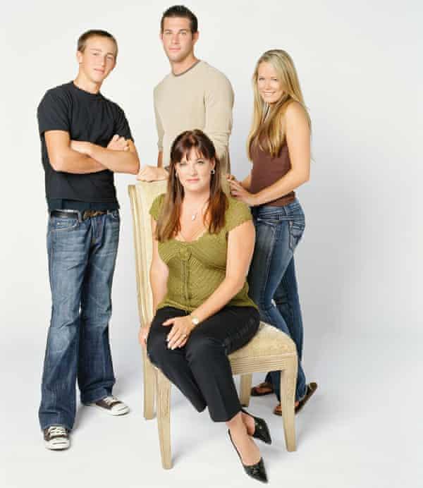 The Real Housewives of Orange County Season 1 (l-r) (back) Colton, Shane Keough, Kara Keough, (sitting) Jeana Keough
