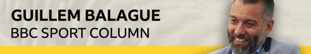 Guillem Balague's BBC Sport column