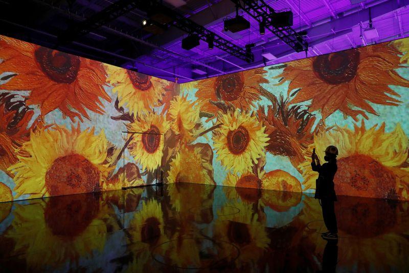 'It's magic': Tour of 'Immersive Van Gogh' exhibit dazzles spectators