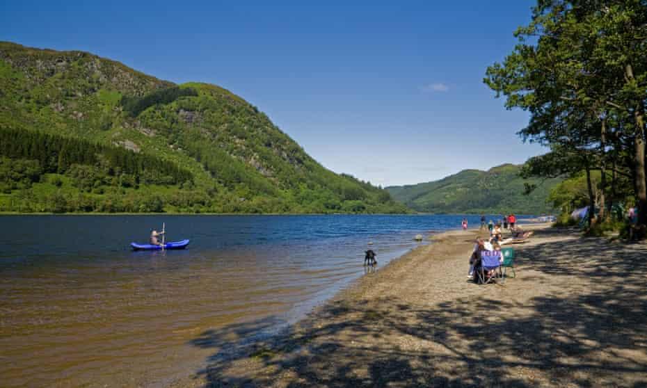 Watersports on Loch Earn