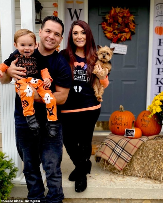 Baby #2:Cortese announced she is her second child with husband of three-years Christopher Buckner last year