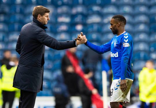 Rangers manager Steven Gerrard says Jermain Defoe is a 'top professional'