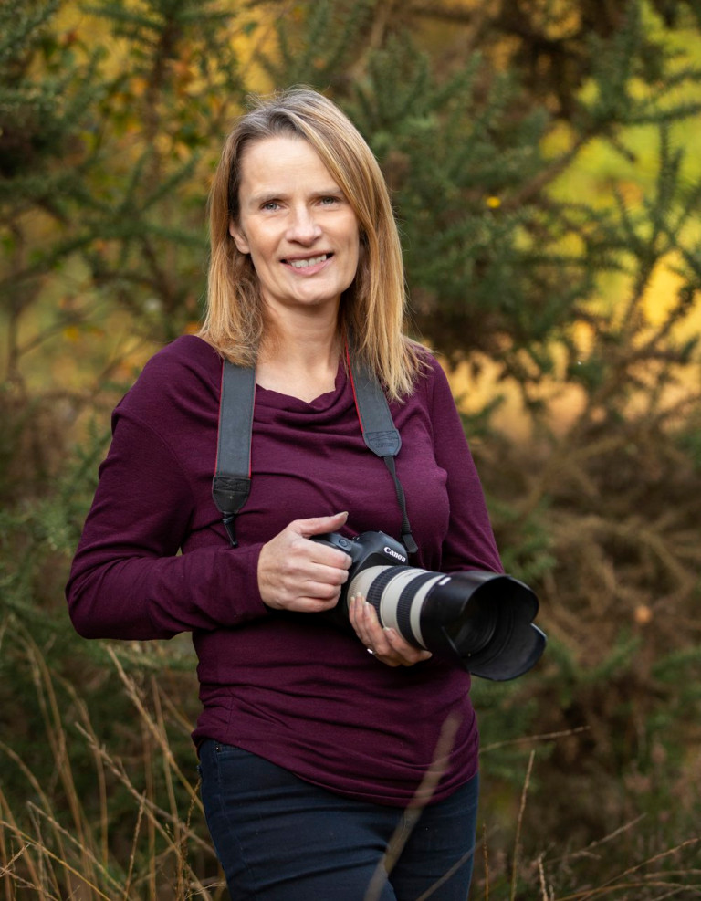 Self-taught family photographer and busy mum Fiona Kidd (Nature Nurture Photography PA Real Life)