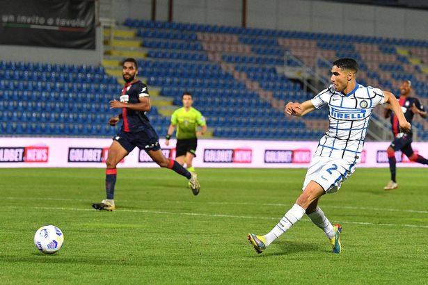 Achraf Hakimi's late goal for Inter Milan helped the punter's bet stay alive