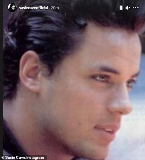 Susie Cave wrote: 'RIP Nick Kamen my sweet friend'