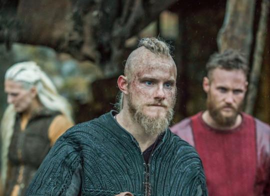 Alexander Ludwig as Bjorn in Vikings.