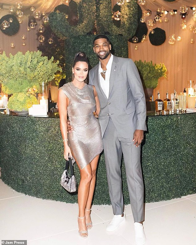 Staying silent:DailyMail.com has reached out to representatives for Khloe, 36, and Tristan, 30, who have so far been unavailable for comment