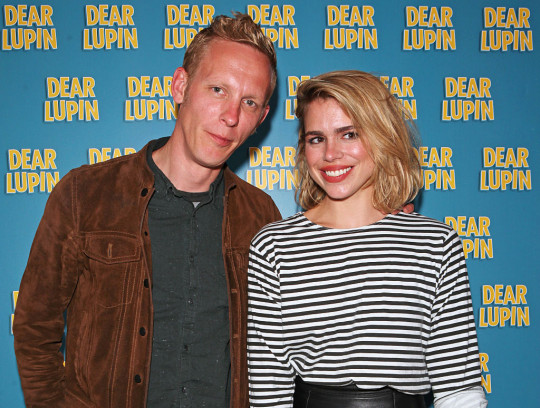 Laurence Fox and Billie Piper at the Dear Lupin press night after party