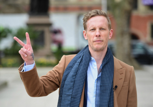 Leader of the Reclaim Party, Laurence Fox, at the launch of their party manifesto for the London Mayoral election, in Parliament Square, Westminster, central London. Picture date: Wednesday April 7, 2021. PA Photo. See PA story POLITICS Mayor. Photo credit should read: Ian West/PA Wire