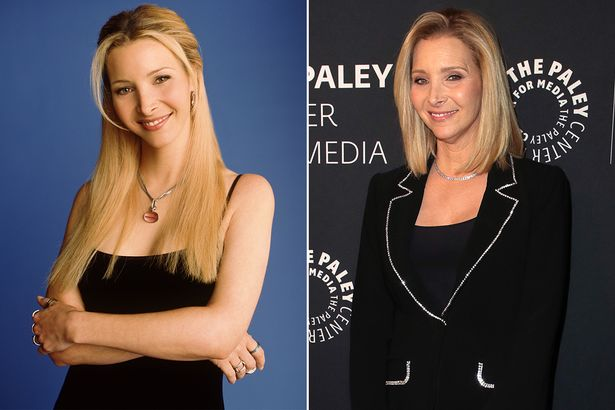 Lisa Kudrow rose to stardom as Phoebe in Friends