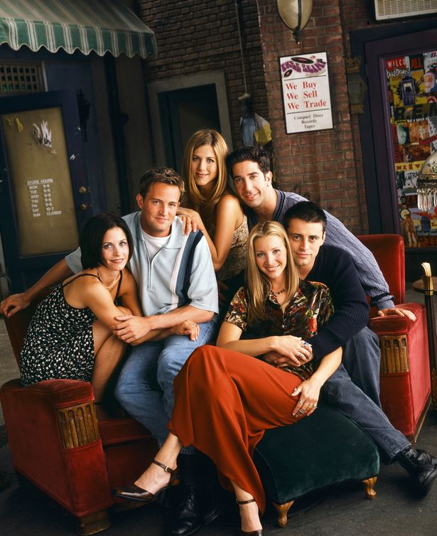 Friends starred Jennifer Aniston, Courteney Cox, Lisa Kudrow, David Schwimmer, Matt LeBlanc and Matthew Perry