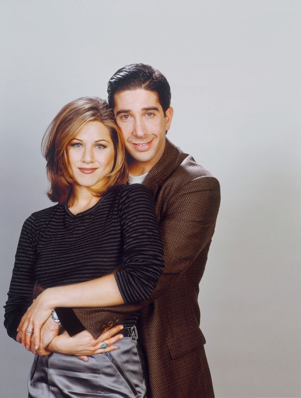 Rachel and Ross' on-off relationship was part of the reason for Friends' success
