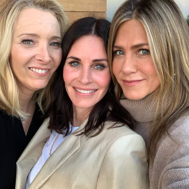 Lisa Kudrow, Courteney Cox and Jennifer Aniston in recent times