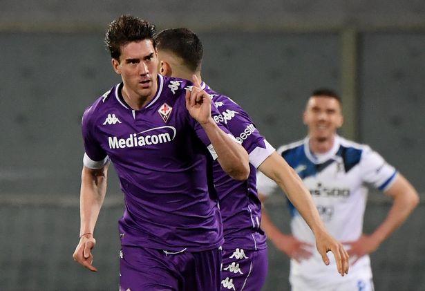 Dusan Vlahovic has scored 21 goals for Fiorentina this season