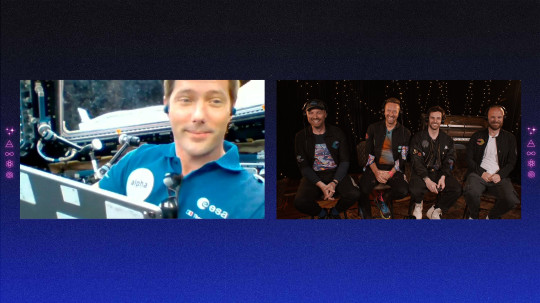 Coldplay with Thomas Pesquet