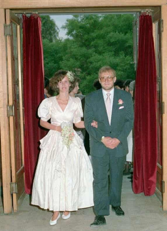 Clive Smallman and Mary Haropoulou Wedding 31 May 1990