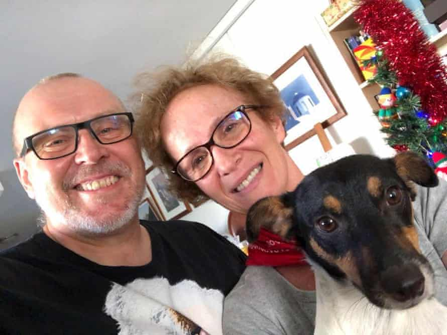 Clive Smallman and Mary Haropoulou Xmas 2018