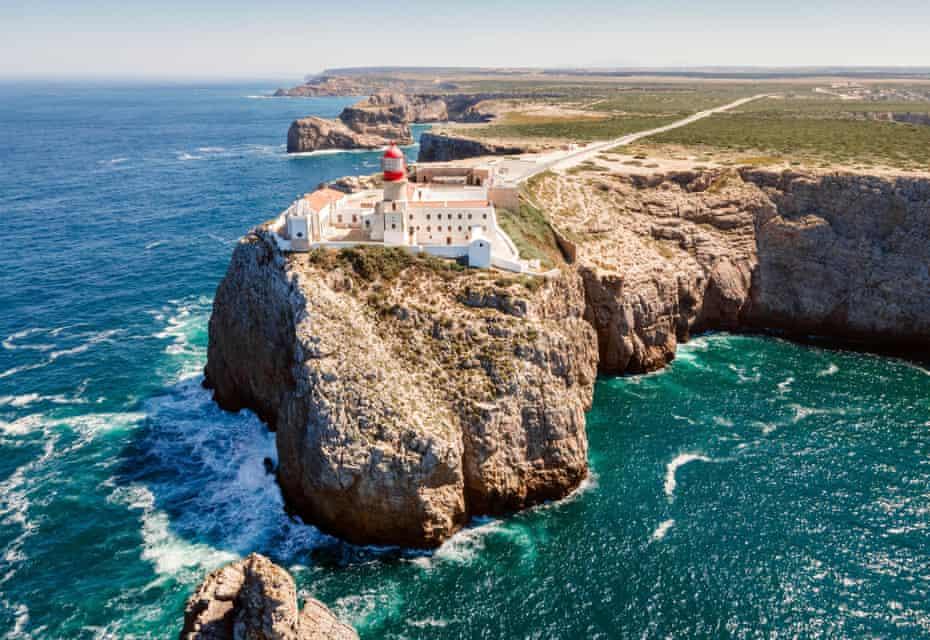 Cabo de São Vicente near Sagres, Algarve, Portugal
