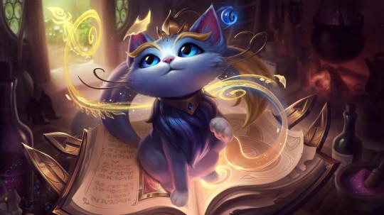 League of Legends Yuumi splash art