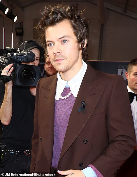Then: Harry picturedat the 2020 event