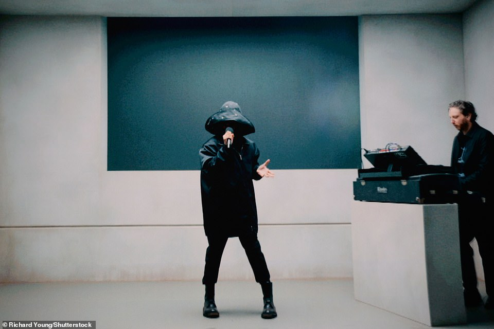 Virtual performance: The Weeknd, who won the International Male Solo Artist award presented by the former First Lady of the United States, Michelle Obama, treated fans to a performance of his single Save Your Tears, pre-recorded from the US