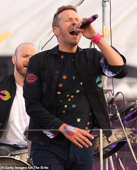 Showman! Coldplay then kicked off the show with an incredible pre-recorded performance on the River Thames