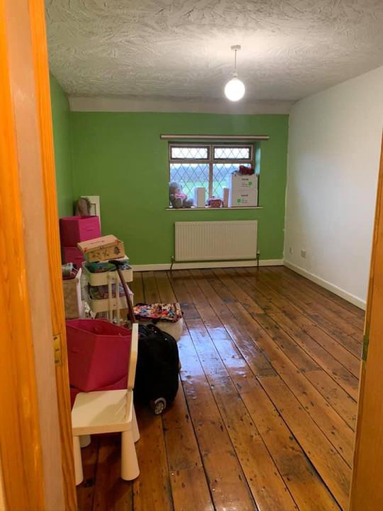 Minnie's bedroom before