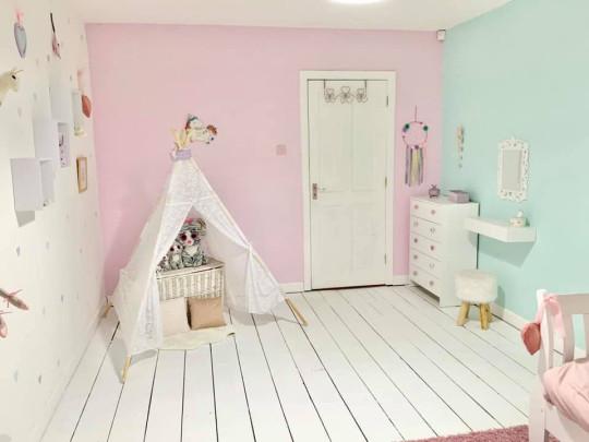 Minnie's bedroom after