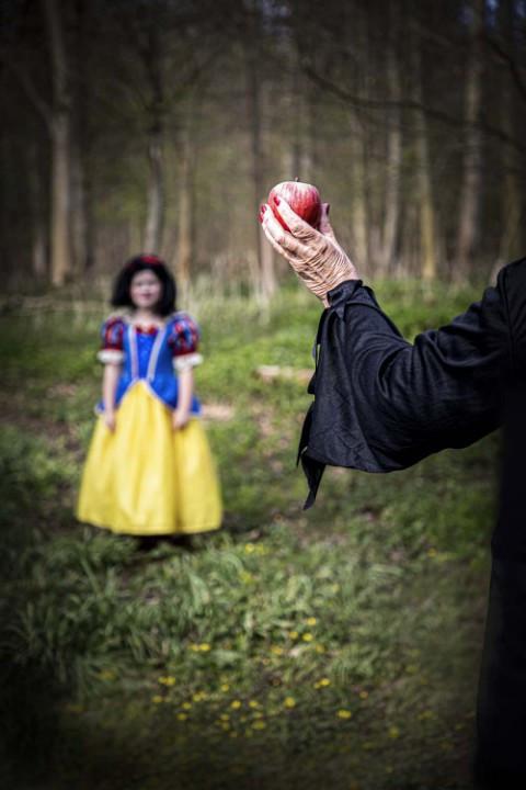Annabeth as Snow White