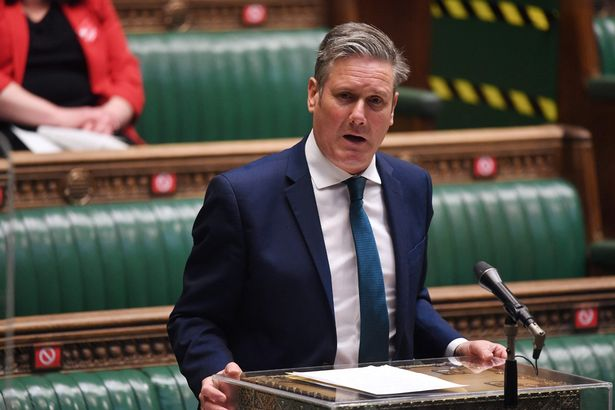 Keir Starmer faced disappointing election results