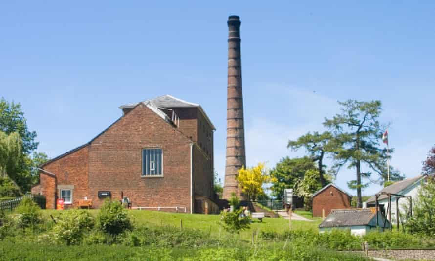 The pump house at Crofton Beam Engines, Kennet and Avon Canal.