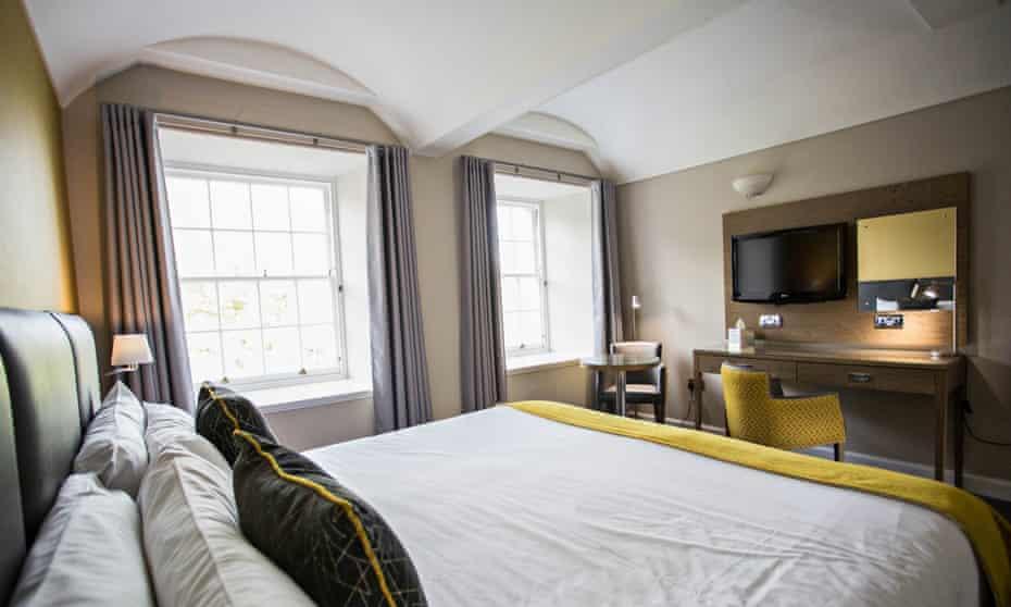 New Lanark Mill Hotel bedroom