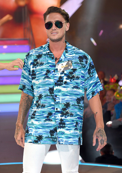 Stephen Bear pictured at the Celebrity Big Brother - Launch Night