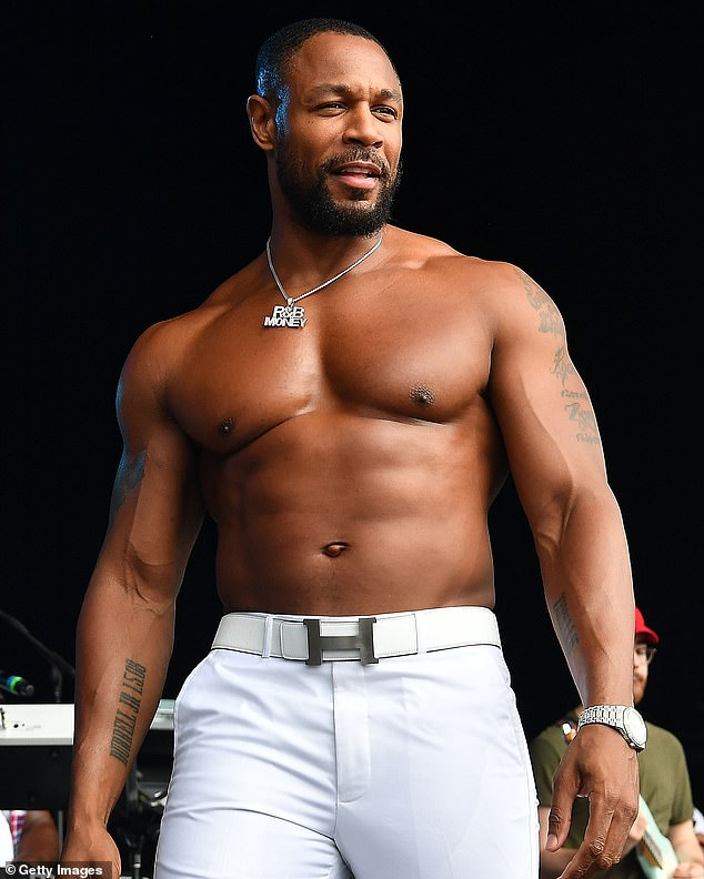 Serious work: The singer has released nine studio albums, with his most recent arriving in 2019; he is seen performing in 2018