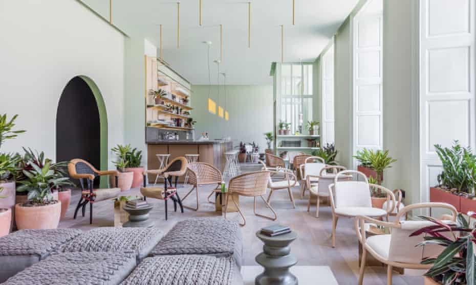 'There's a chic and comfortable lounge in pistachio and cream': Eden Locke, Edinburgh.