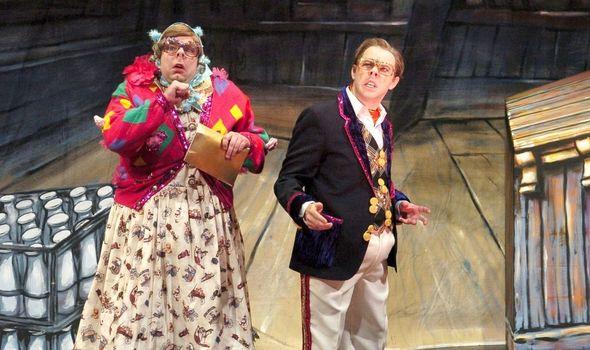 Steve Pemberton and Reece Shearsmith as Edward and Tubbs