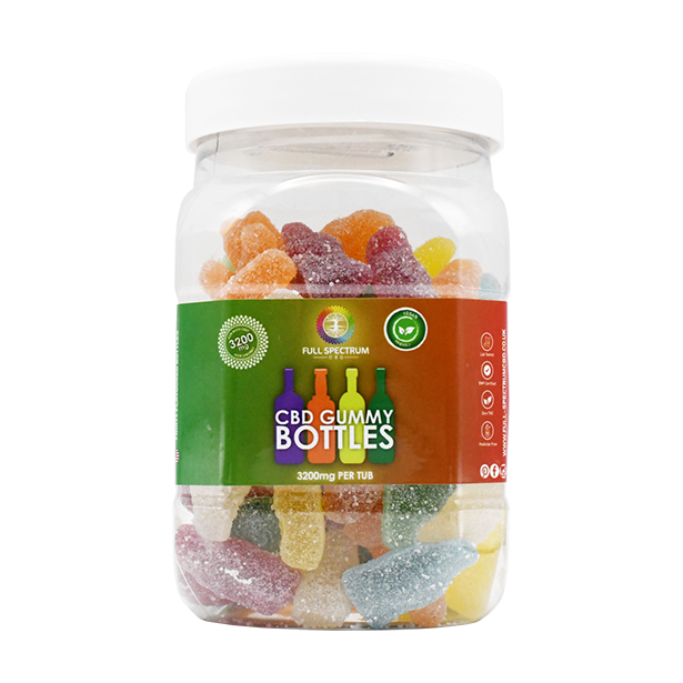 Full Spectrum CBD gummies are great for experienced or first-time CBD users. Only suitable for those aged 18 and over