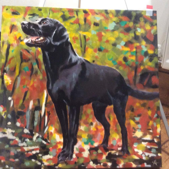 Clive dog painting (Collect/PA Real Life)