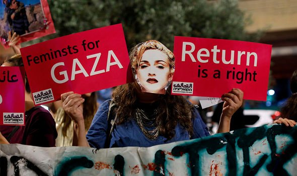 Pro-Palestinian activists campaigned for Madonna to boycott Eurovision 2019