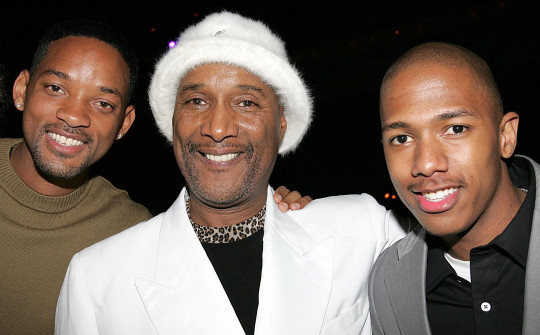 Mandatory Credit: Photo by Dave Allocca/Starpix/Shutterstock (5629547b) Will Smith, Paul Mooney and Nick Cannon 'HITCH' FILM PREMIERE AFTER PARTY, NEW YORK, AMERICA - 04 FEB 2005