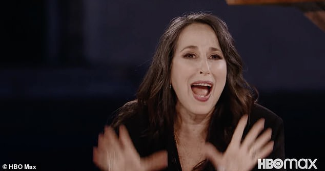 Comedian: Maggie Wheeler, who played Janice Litman-Goralnik, Chandler's on-and-off longtime girlfriend laughed while on set
