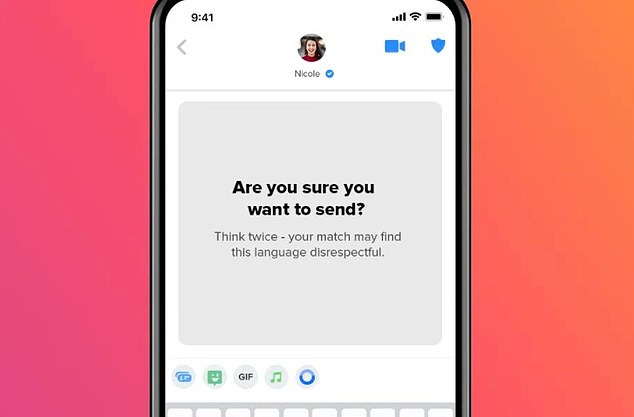 Members who saw AYS prompts were less likely to be reported in the next month for inappropriate behavior, something Tinder says is a sign it is impacting long-term behavior