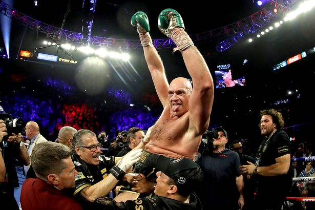 The Gypsy King secured his victory back in February 2020