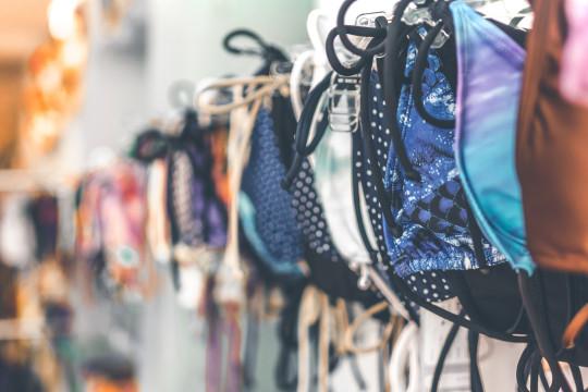 Bikini in shop