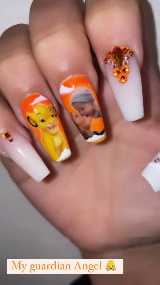 Safiyya Vorajee manicure tribute.