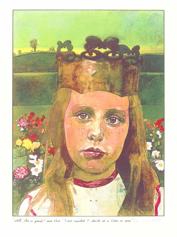 Peter Blake interpretation of Alice, from 1970