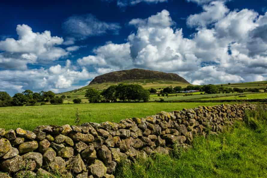 Slemish Mountain, the legendary home of St Patrick