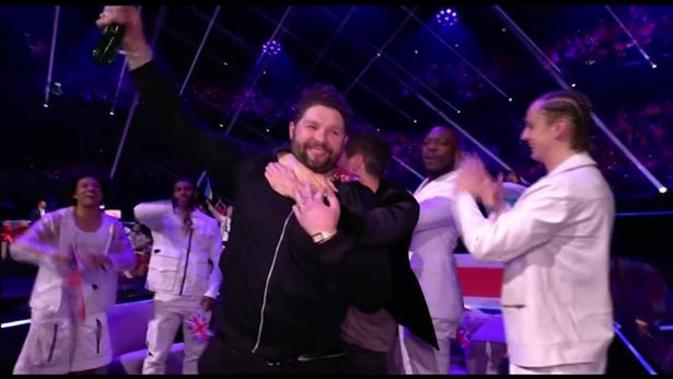 James Newman, UK's Eurovision Song Contest 2021 contestant, put on a brave face