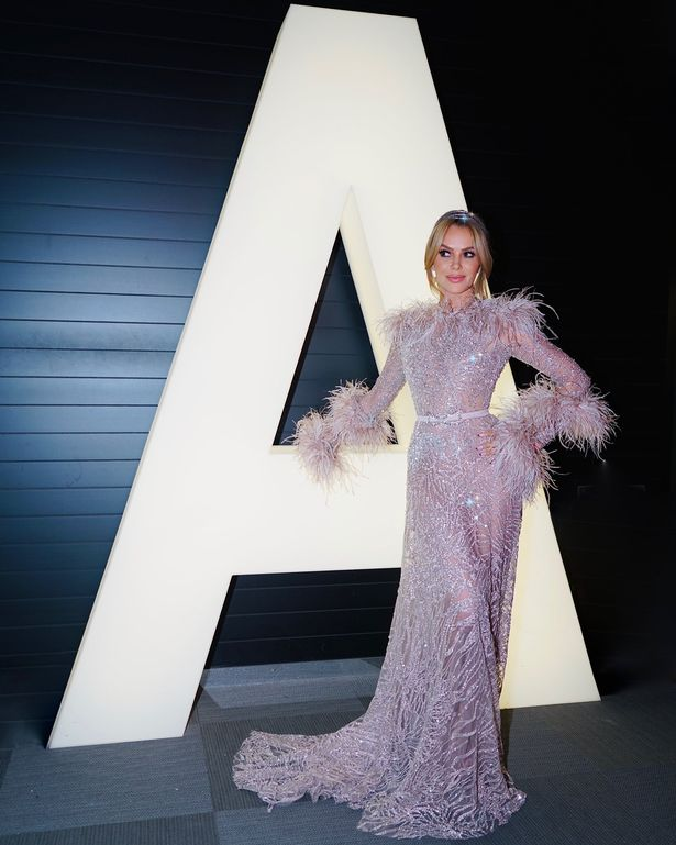 Fans also loved Amanda Holden's beautiful fluffy gown